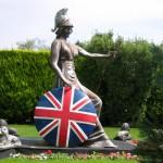 klassische Britannia Statue